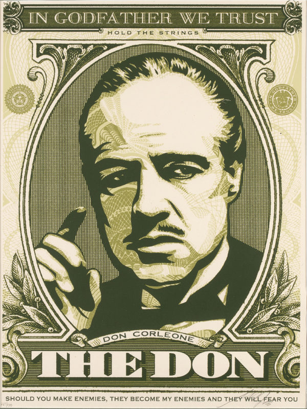 Obey - In Godfather We Trust