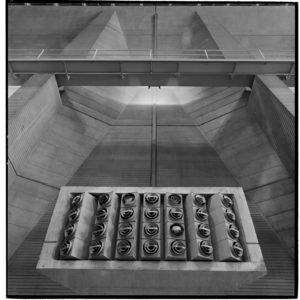 Concrete Icon, Grand Coulee Dam interior, Marcel Breuer designer, Washington State