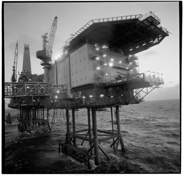 North Sea Oil Rig, Stavanger, Norway