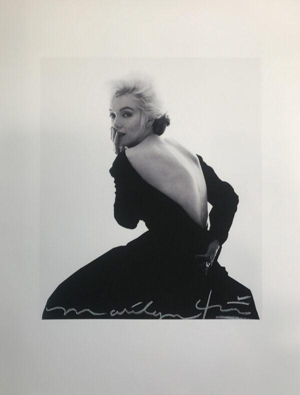 Stern, Marilyn in Dior Dress - The Last Sitting