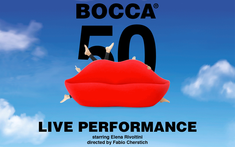 GUFRAM & RESTELLIARTCO. 50 Years of the Bocca sofa – Live Performance