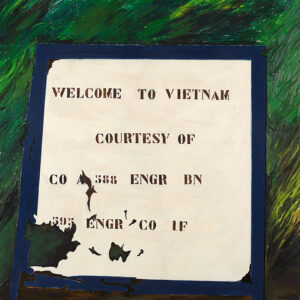 Franco Angeli Welcome to Vietnam 1970 160x160cm