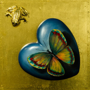 Irem Incendayi, Unchained Heart (blue frog)